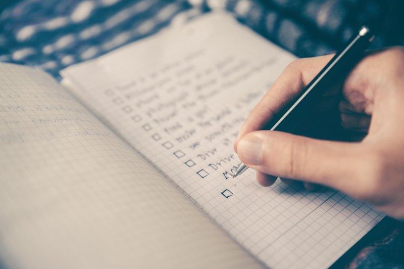 Pisanie planu dnia